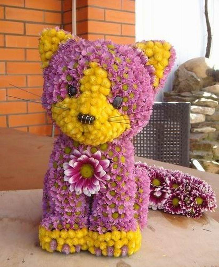 Как сделать цветы поделки из цветов своими руками